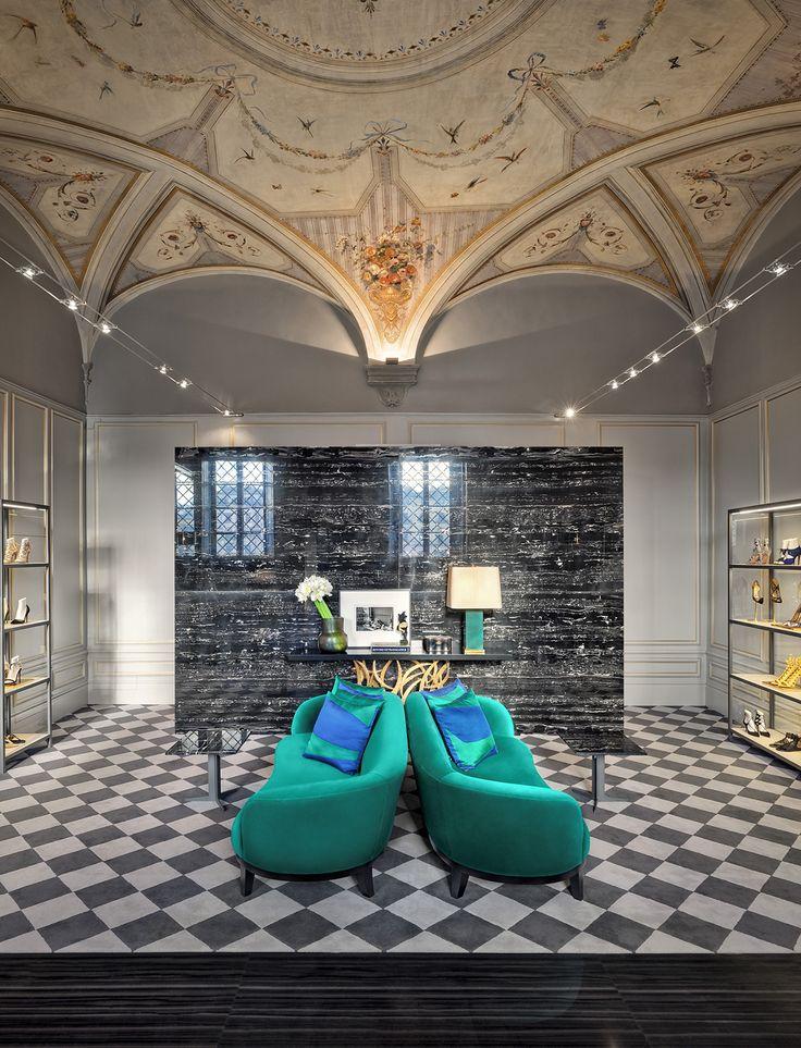 Aquazzura Flagship Store, Florence - Casa do Passadio