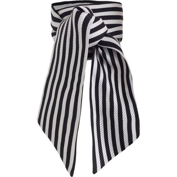 ZIMMERMANN Wrap Scarf (1.224.025 VND) ❤ liked on Polyvore featuring accessories, scarves, striped shawl, zimmermann, wrap scarves, wrap shawl and striped scarves