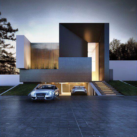 17 mejores ideas sobre arquitectura moderna en pinterest - Constructores de casas ...