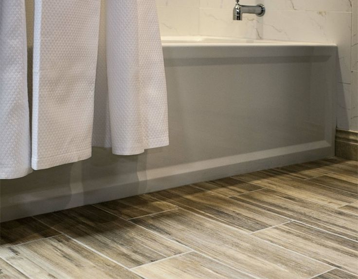 Inexpensive Tile Design Through Faux Tile Effects to Enhance Your Bathroom Floor
