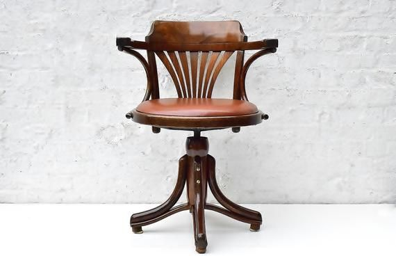 Your Place To Buy And Sell All Things Handmade Vintage Desk Chair Vintage Office Chair Vintage Furniture