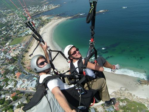 South Africa is blessed with many a paragliding paradise.