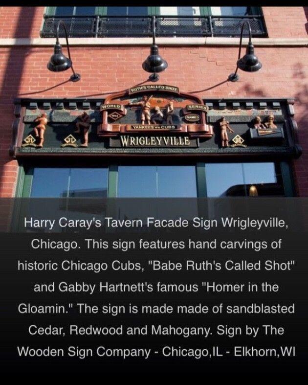 Chicago Cubs / Harry Caray's sports memorabilia