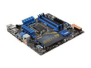 MSI Z77MA-G45 LGA 1155 Intel Z77 HDMI SATA 6Gb/s USB 3.0 Micro ATX Intel Motherboard with UEFI BIOS $104.99 after rebate