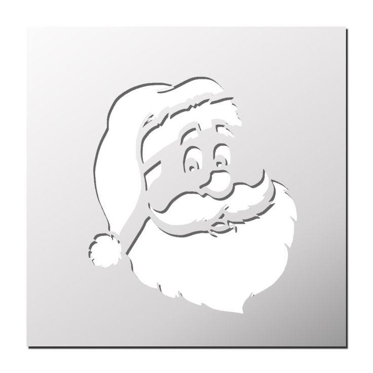Pochoir Père Noël Plus