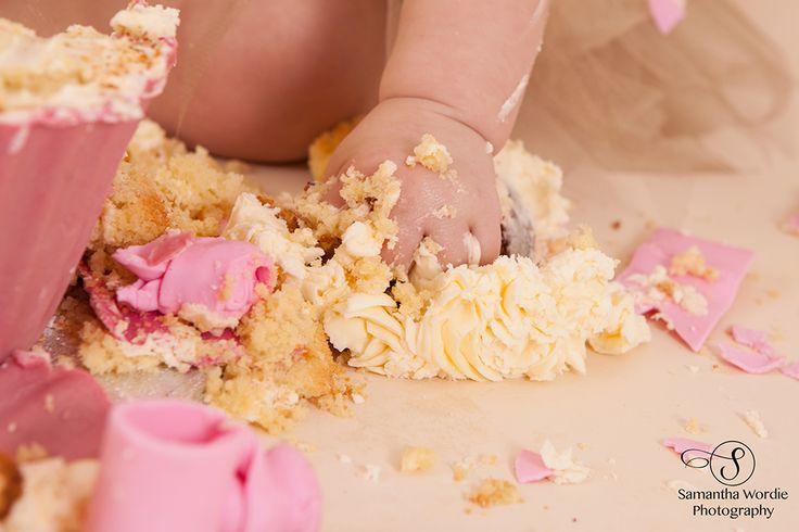 Amelia's cake smash, Cake Smash, Child photography, Tutu, Samantha Wordie Photography