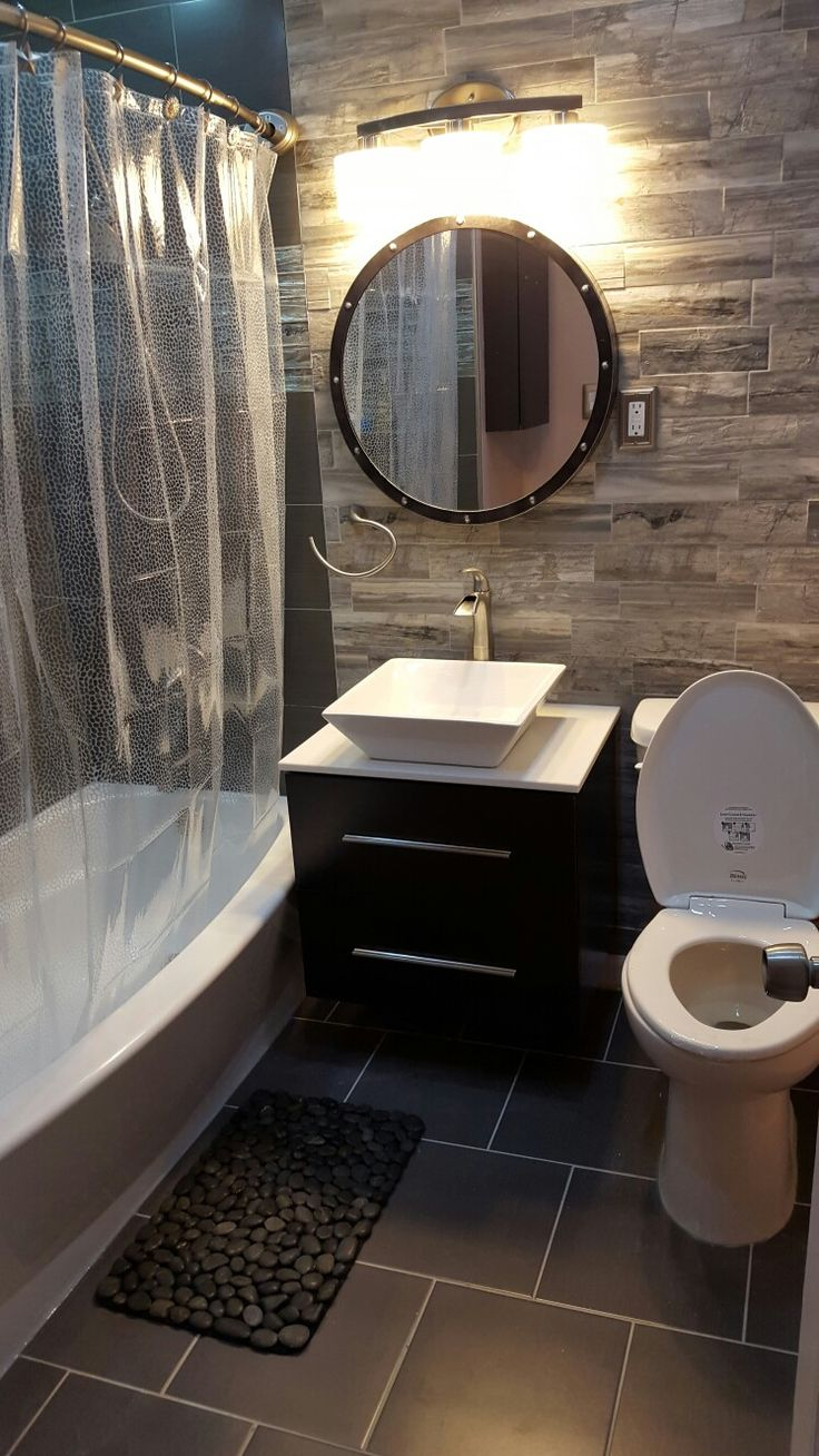 Best 25 small bathroom makeovers ideas on pinterest Small bathroom makeovers