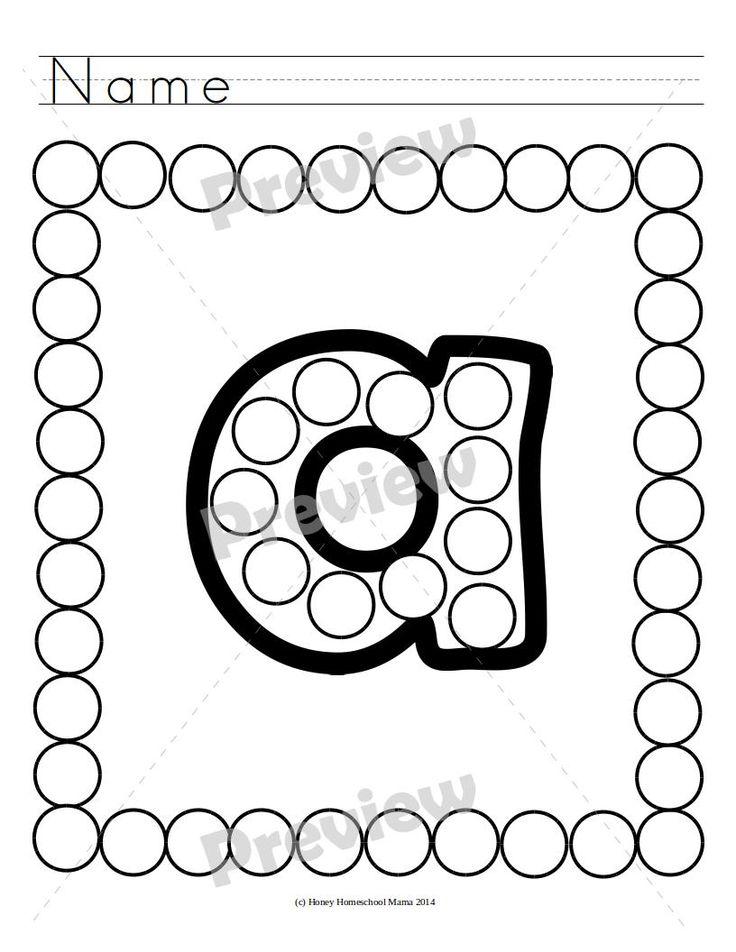 80 besten Do-A-Dot Marker Activities Bilder auf Pinterest | Marker ...