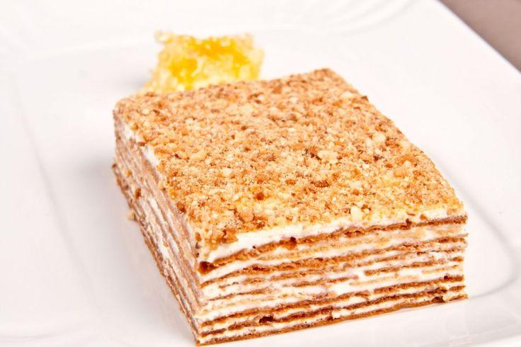 Mit dem Rezept für einen Layer-Honig-Kuchen lässt sich ein ...