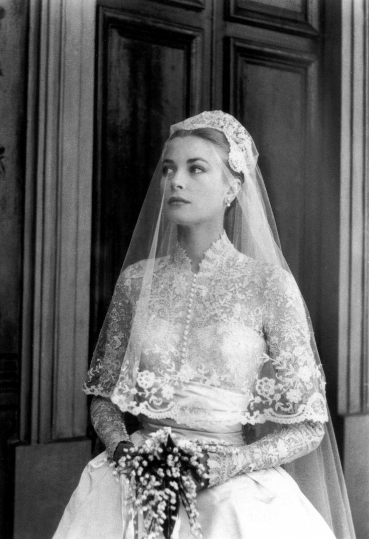 Monaco : mariage de Grace Kelly et du Prince Rainier, photos du conte du Rocher - Journal des Femmes