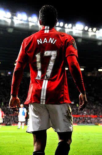 Luis Nani ♥ Manchester United