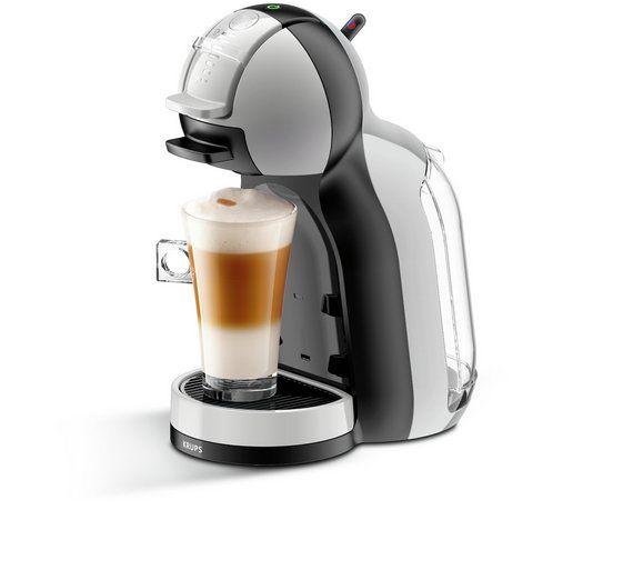Nescafe Dolce Gusto Krups Mini Me Pod Coffee Machine Grey