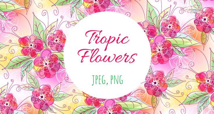 Тропические цветы   fm.artlab.club