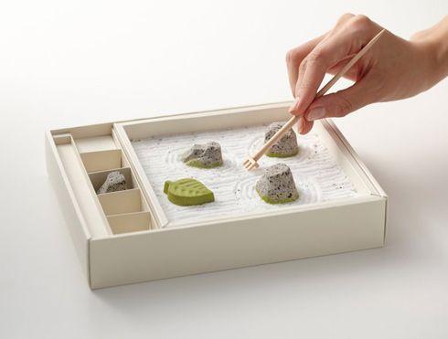 わびさびの和菓子。 心安寺石庭 - まとめのインテリア / デザイン雑貨とインテリアのまとめ。