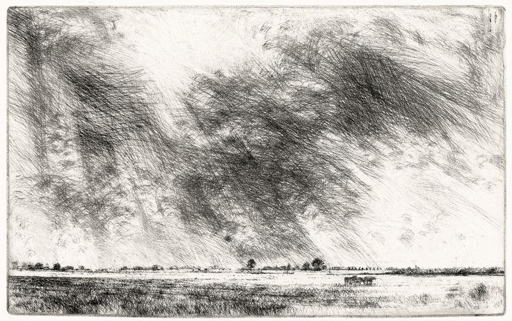 geritsel: Willem den Ouden - etching