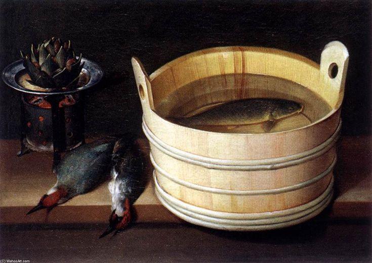 'Les quatre éléments', huile sur toile de Sébastien Stoskopff (1597-1657, France)