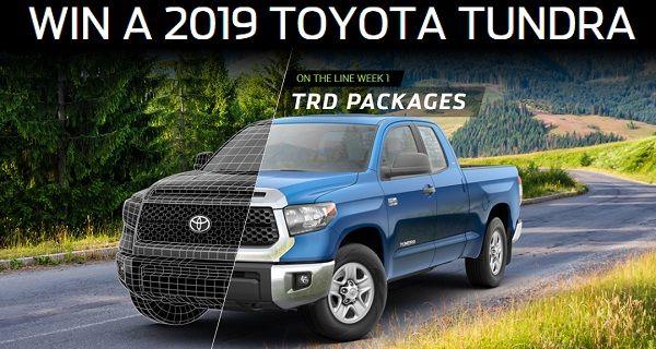 www nascar com/toyotaplayoffspromo: Win 2019 Toyota Tundra