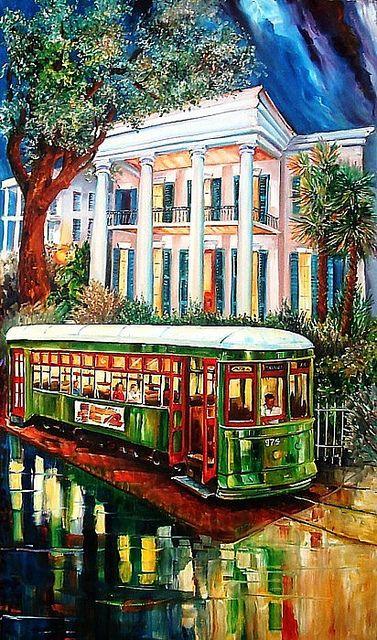 New Orleans Art by Diane Millsap  Original Oil on Canvas