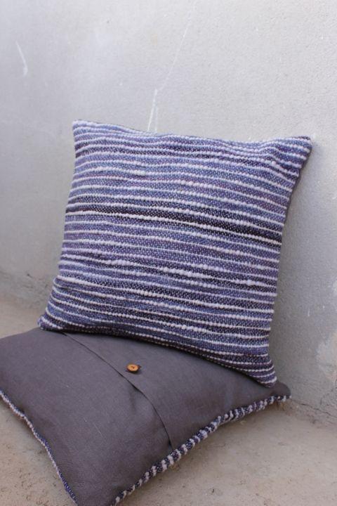 Handwoven pillows