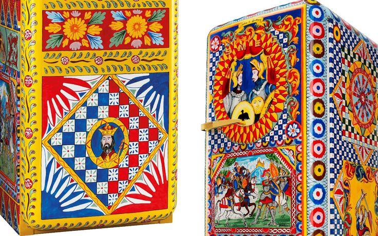 Dolce&Gabbana (ドルチェ&ガッバーナ) が作り出す世界一豪華な冷蔵庫、ミラノサローネに出展