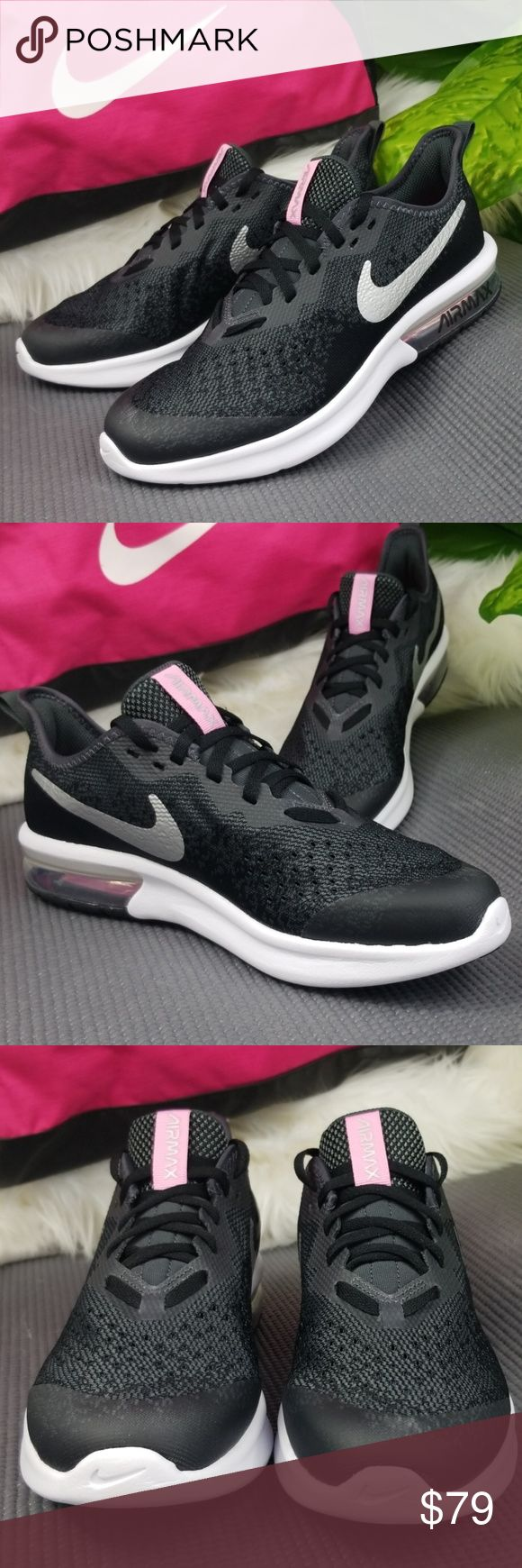 Nike Air Max Sequent 4 Youth/Womens NWT Black nikes