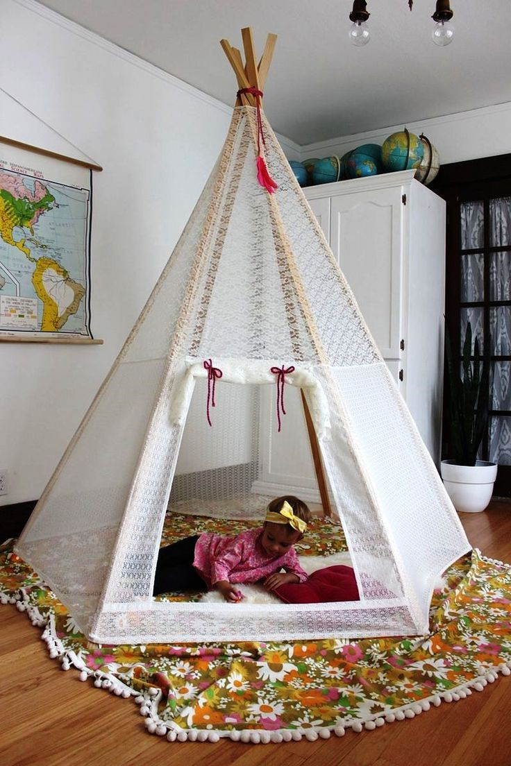 Kids Playroom Decor With Play Tents   Real House Design. 242 best Kids Room Ideas images on Pinterest   Children  Kid