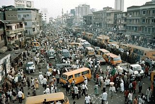 Lagos, Nigeria. One of the cities I did not enjoy visiting.