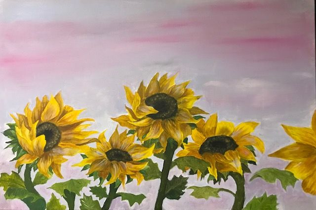 Sunflowers - https://www.graceartcollections.com/product/sunflowers/