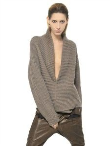Ribbed knits by Haider Ackermann. Learn what to wear this fall, 2015 >>> http://justbestylish.com/what-to-wear-this-fall/