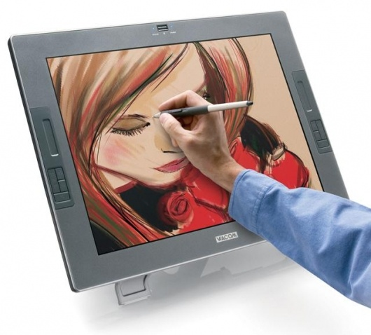 New 21.3' Cintiq is World's First Interactive Pen Display