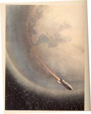 """Dreams of Space"" vintage children's book illustrations! | KrustelKram"