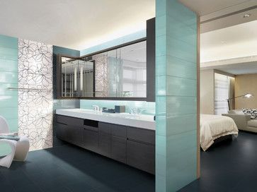 contemporary bathroom cyan petrol blown petroljpg contemporary bathroom tile