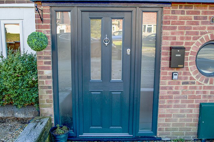Sliding Doors and Composite Front Door, Wokingham, Berkshire - Thames Valley Windows