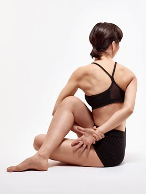 an easy way to detox icky-feeling organs: do some seated yoga twists.     Cross one leg over the other and reach around your knee with the opoosite arm, thereby turning your body. To deepen the twist, clasp arms and pull in your naval. Maintain this position for 2 minutes before repeating on other side.    This will stimulate circulation and promote the release of toxins.