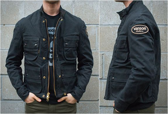 So you have your dream custom motorcycle, now what to wear? Check out these stylish jackets by Vanson Leathers, they combine all the functionality needed from a motorcycle jacket with a cut that makes them perfect for non-bike moments. Both the Vanso