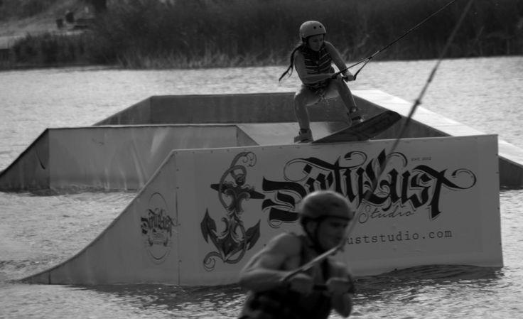 Wakepark Łomianki  #wakeboarding #wakepark #poland #wakegirl   Fot. Edyta Korupczyńska