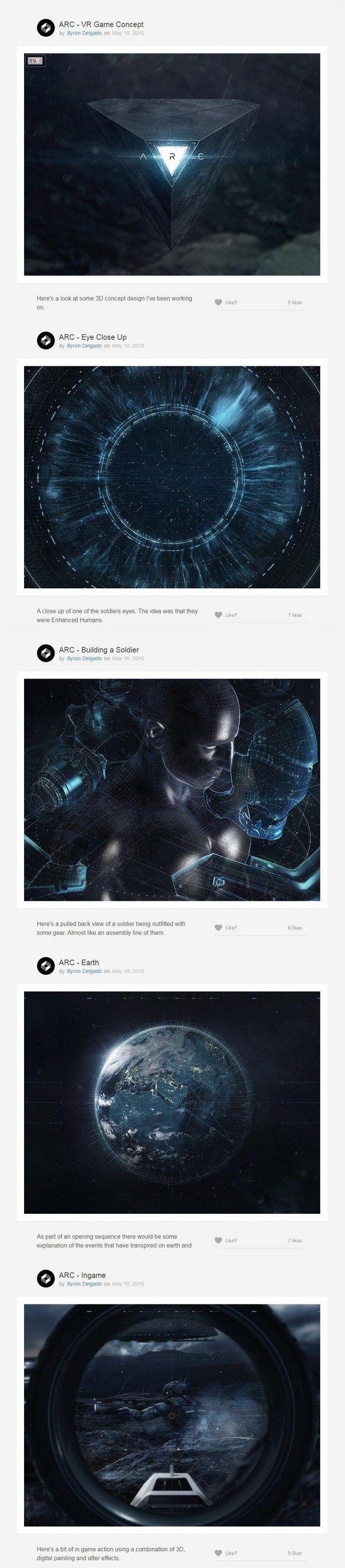 #产品展示# #科技# ARC - VR...
