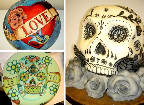 19 best images about theme cakes on pinterest fairy for Skull fairy tattoos