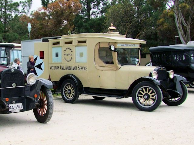 1926 Dodge Ambulance.
