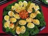 Rețetă Oua umplute cu telemea, Antreuri de NATURAL 100 % - SAFE FOOD