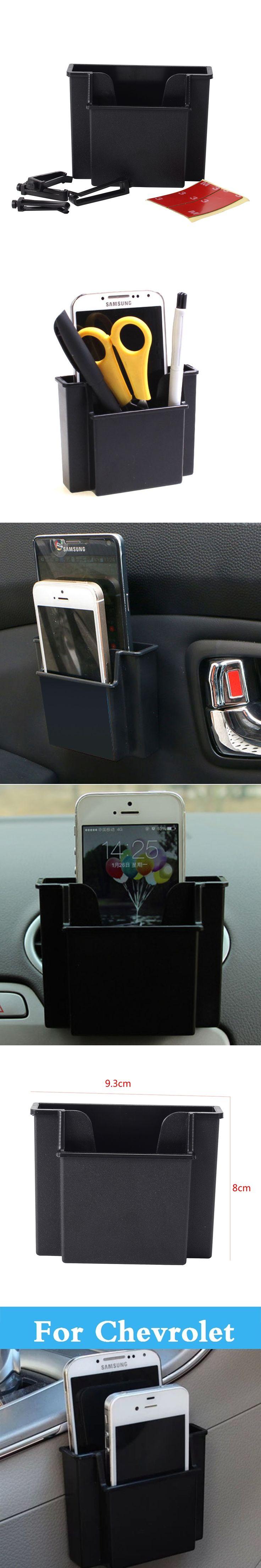 Car Cell Phone  Holder Storage Box Holder Orangizer For Chevrolet Corvette Cruze Epica Impala Kalos Lacetti Equinox Evanda Hhr