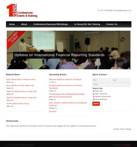 1 Group listing website