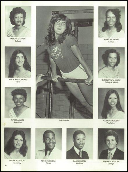 1980 Suitland High School Yearbook via Classmates.com