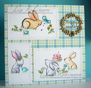 DT Inspiration - Easter Tea Party - All Dressed up Challenge blog: March 2018 New Release part 1