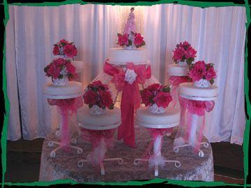 pasteles de quinceanera | ... Palace El Paso, Bodas, XV, Decoracion Elegante- Bases Para Pastel