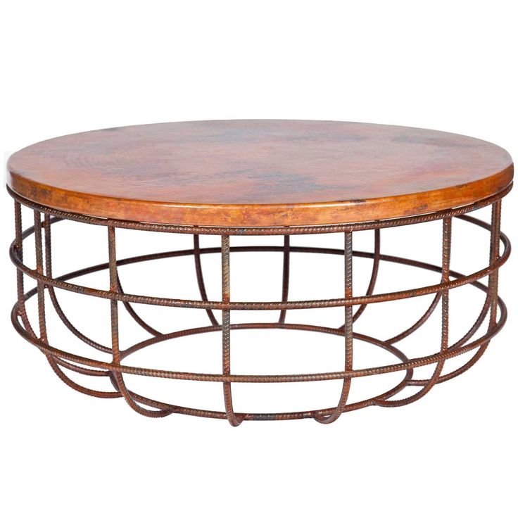 copper coffee table b&m