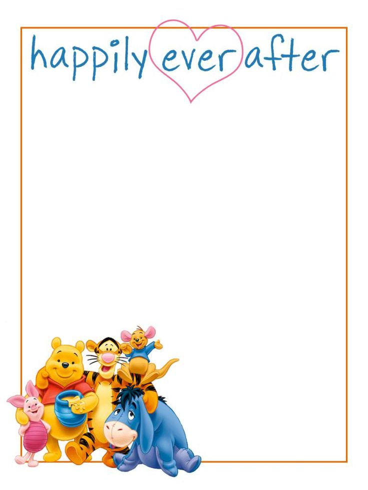 Journal Card - Happily Ever After - Pooh and friends - 3x4 photo dis_471a_happily_ever_after_poohbear.jpg