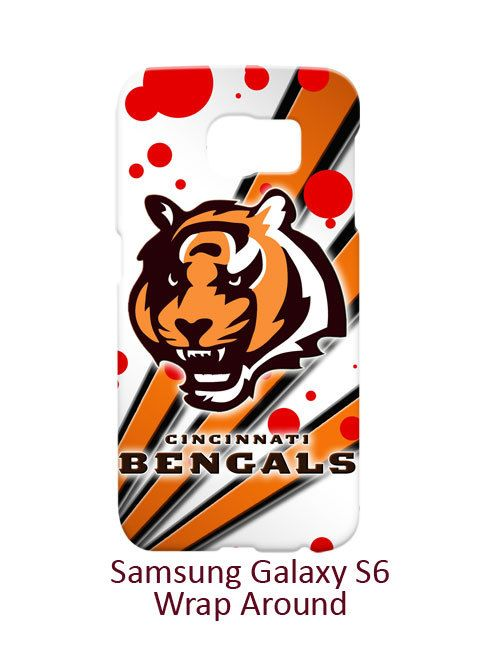 Cincinnati Bengals Node and Strip Samsung Galaxy S6 Case Cover