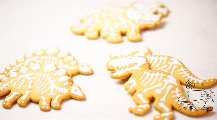 Dinosaur sugar cookies Soffi's Kageri