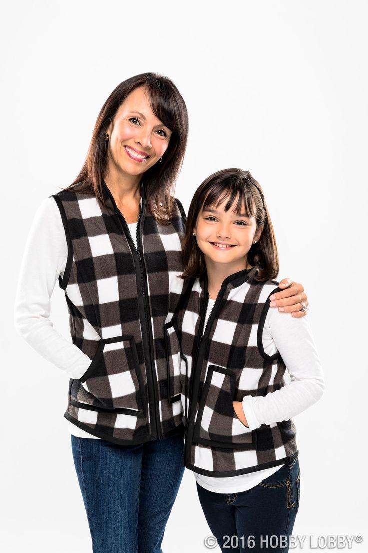 White apron hobby lobby - Black White Plaid Fleece Fabric